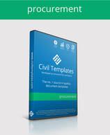 Procurement templates