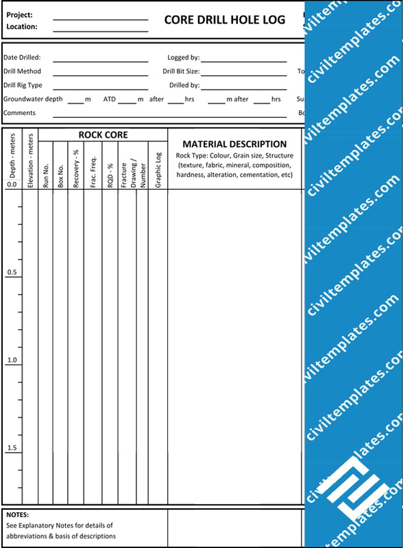 Geotechnical Investigation - Civil Engineering Templates