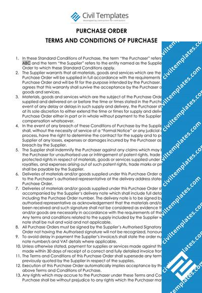 procurement documents